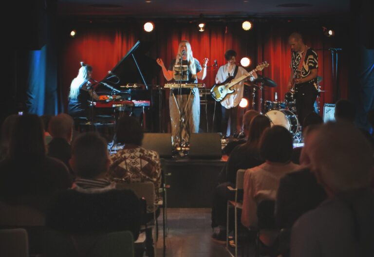 Örebro Jazz & Blues, Årets Jazzklubb 2018. Foto: Leif Johansson