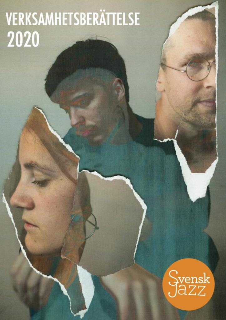 Svensk Jazz verksamhetsberättelse 2020 omslag