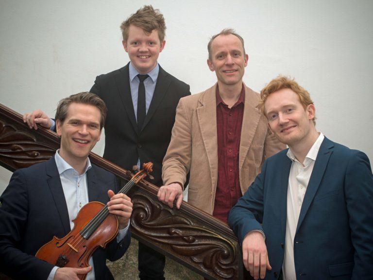 Bild för event - Mads Tolling Quartet med Jacob Fischer