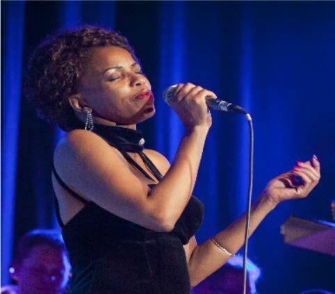 """Bild för event - Lady Lynette & Blekinge Big Band - """"A taste of Billie Holiday"""""""